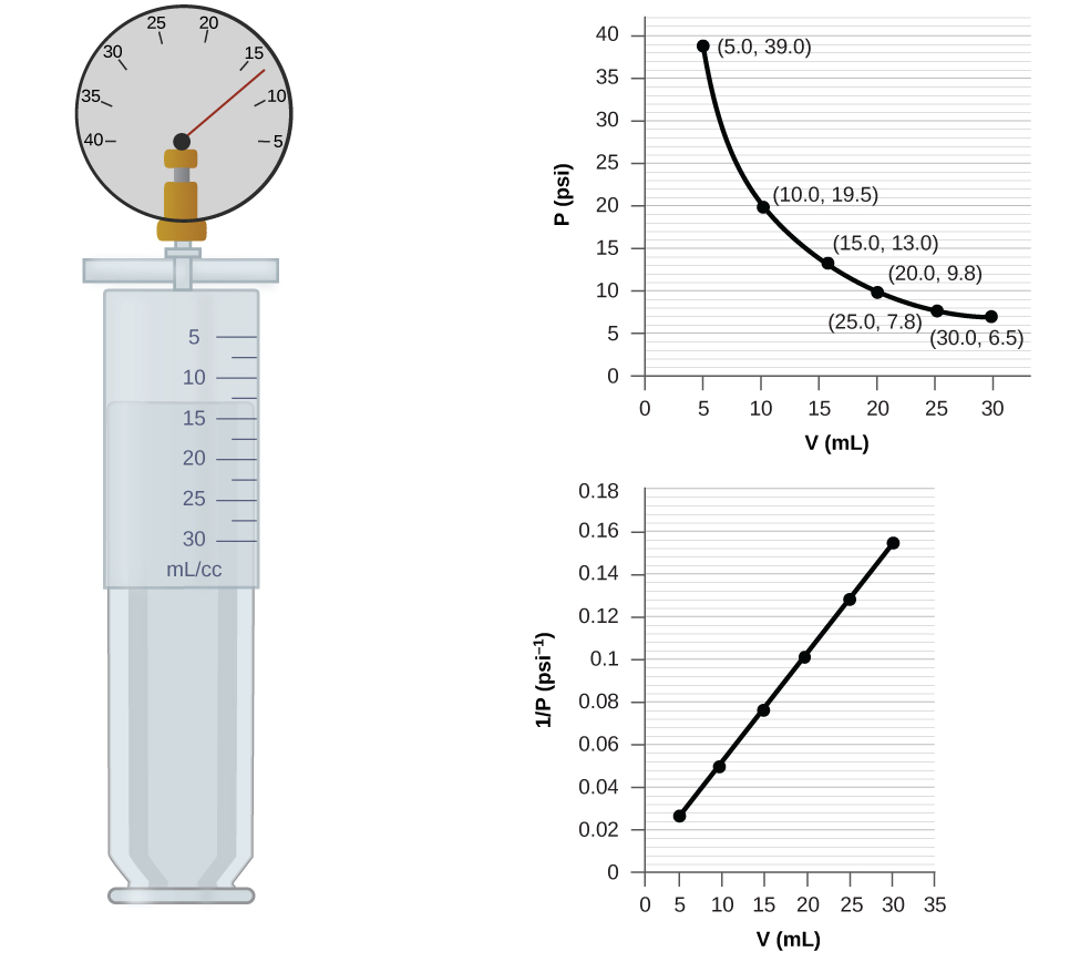 boyle s law lab report Boyle's law experiment where a trapped gas is compressed with textbooks determine the total pressure in the syringe and then plot the pressure of the trappe.