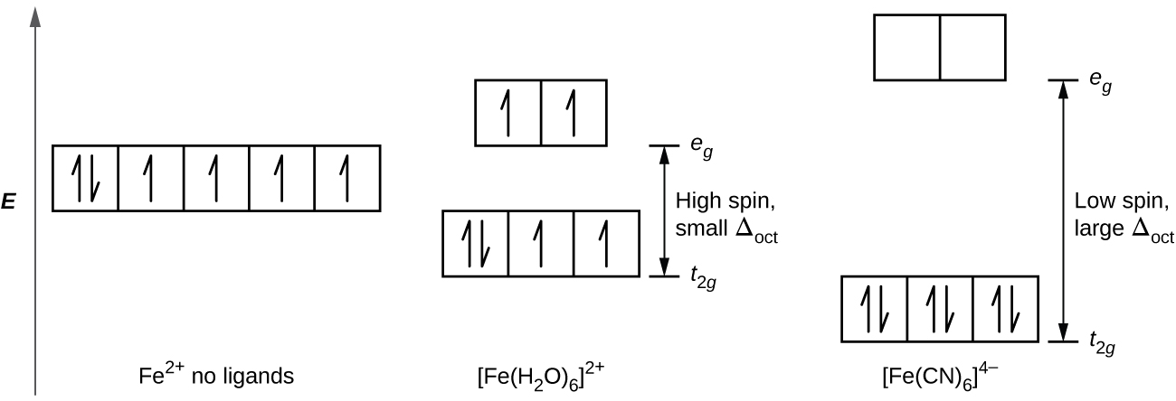 Spectroscopic and magnetic properties of coordination compounds a diagram is shown with a vertical arrow pointing upward along the height of the diagram ccuart Gallery