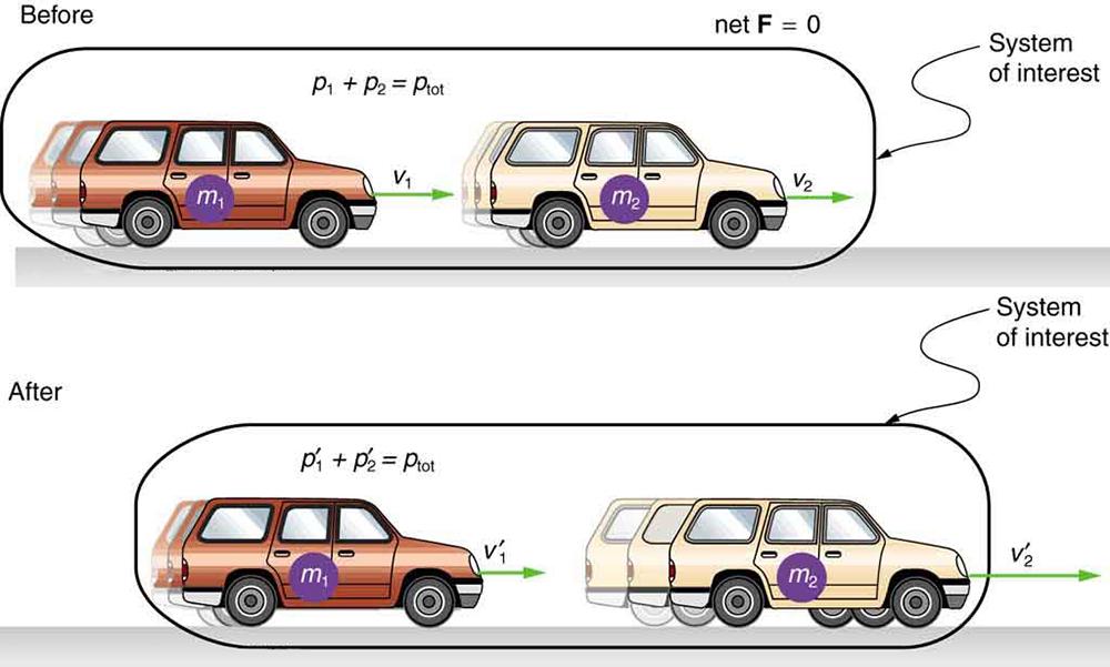 Conservation of Momentum · Physics