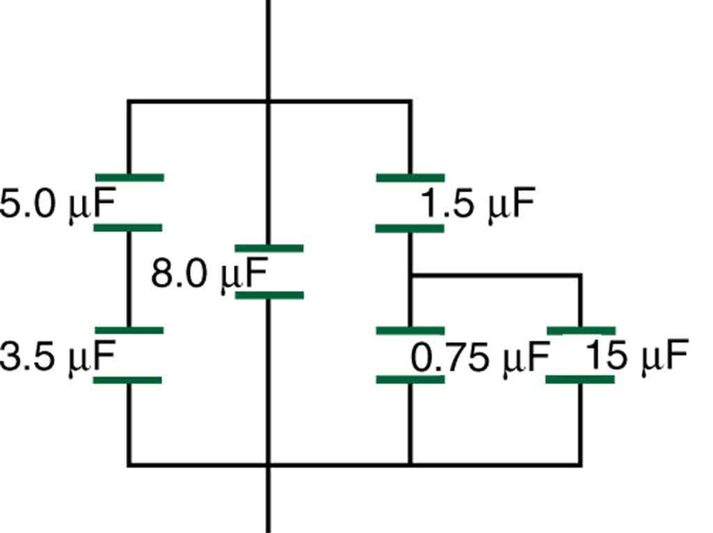 capacitors in series and parallel  u00b7 physics