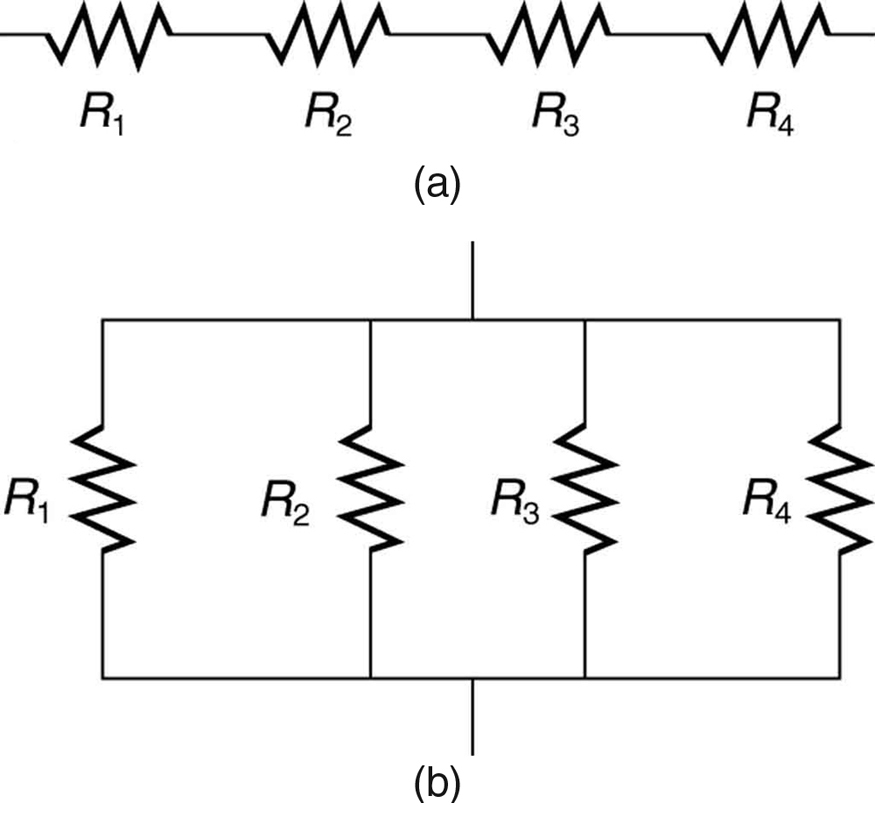 resistors in series and parallel  u00b7 physics