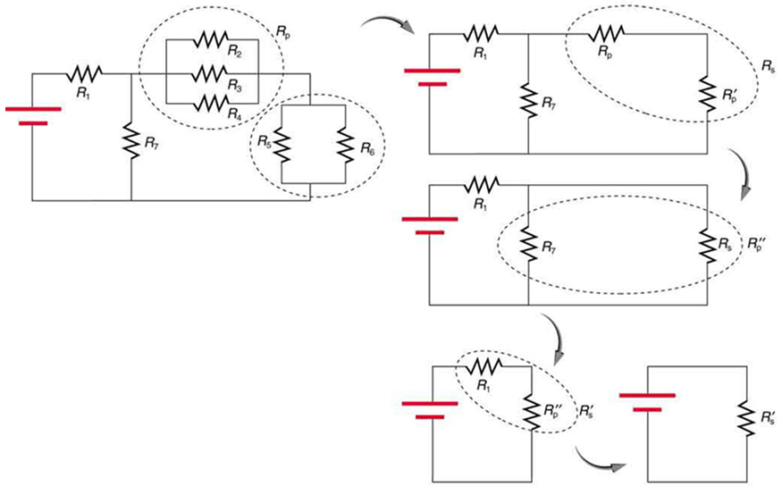 resistors in series and parallel 183 physics