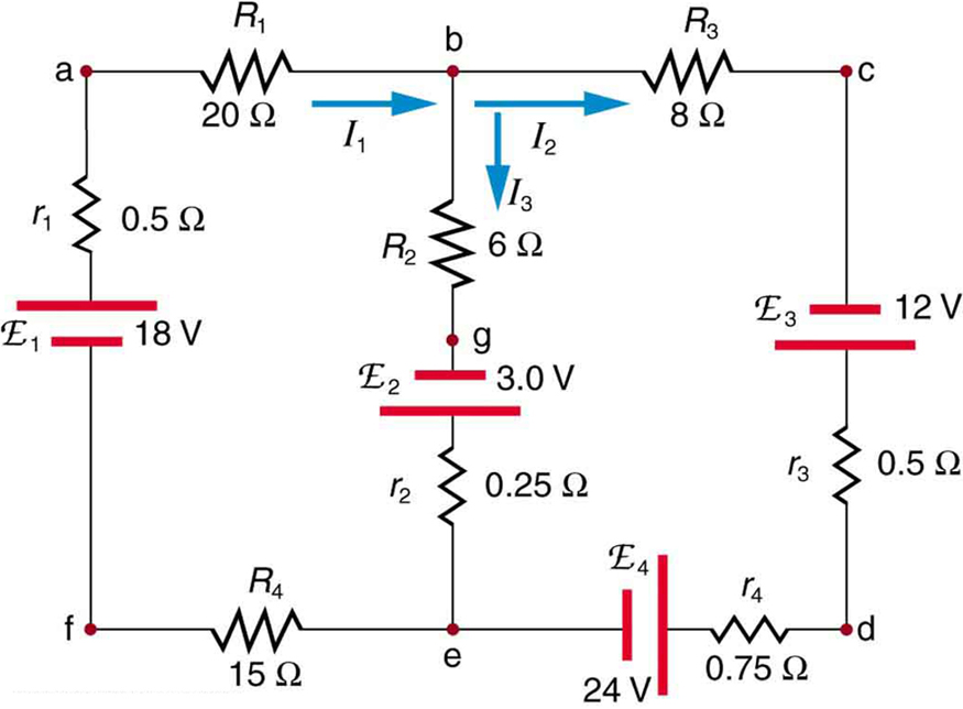 kirchhoff's rules · physics, wiring diagram