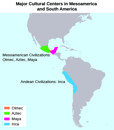 aztec and incan civilizations 1 mesoamerican and andean civilizations aztecs, maya, and inca guiding questions 1 how did prior civilizations influence the aztecs, maya, and incas.