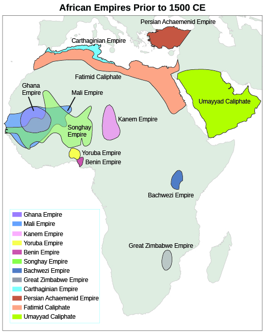 West africa and the role of slavery us history this map shows the locations of the major west african empires before 1492 along the mediterranean coast muslim states prevailed ccuart Image collections