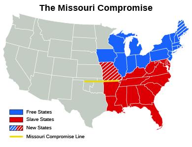 The Missouri Crisis 183 Us History